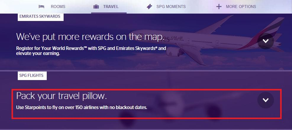 SPG-flights