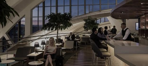 LA Star Alliance lounge