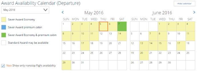 UNITED-EWR-LAX-AVAILABILITY