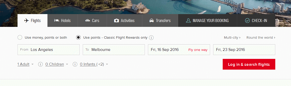 How to Book Qantas Frequent Flyer Awards