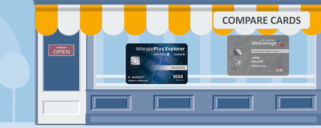 Compare MileagePlus Explorer vs AAdvantage Platinum Select