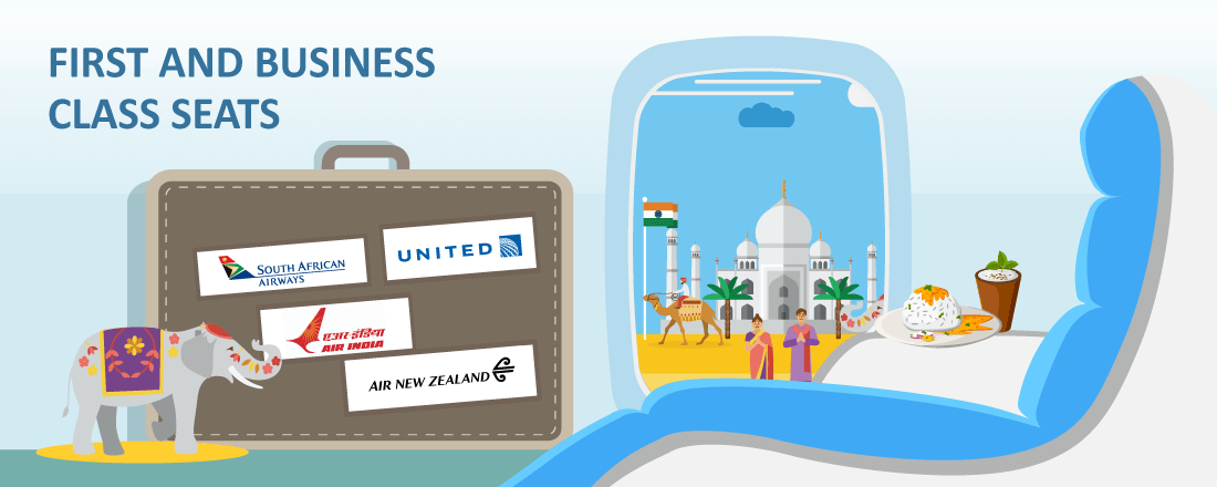 Best Way to Redeem Miles on United and Star Alliance for Premium Class Seats to New Zealand, India and Africa