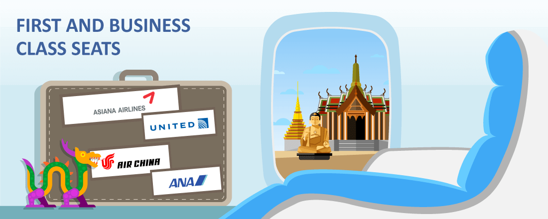 Best Way to Redeem Miles on United Partners for Premium Class Seats to Asia