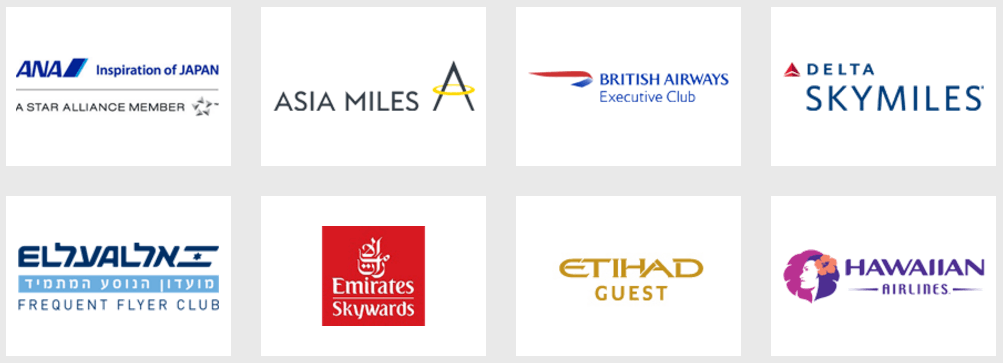 AMEX Membership Rewards Partner Airlines