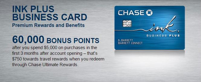 Get your great sign-up bonus from Chase