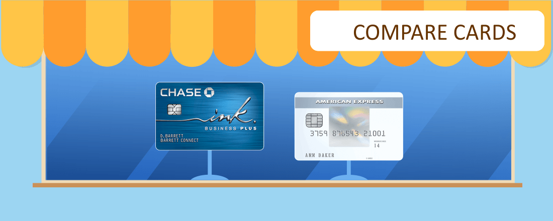Chase Ink Plus Business or Amex EveryDay Preferred