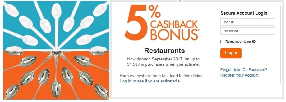 Discover 5% cash back rotating categories