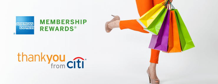 AMEX and Citi rewards programs