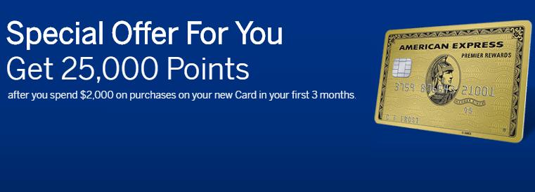 Amex Premier Rewards Gold Credit Card