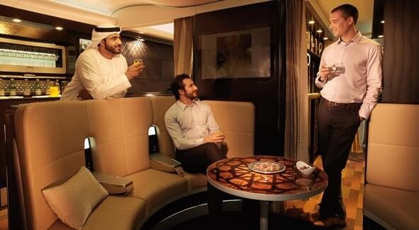 The best first class seat in the world aboard an A380 – the First Apartment