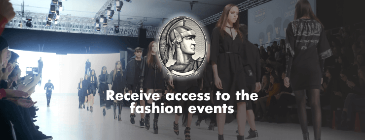 access to fashion events