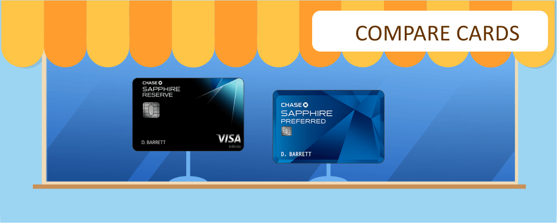 Chase Sapphire Reserve vs Chase Sapphire Preferred