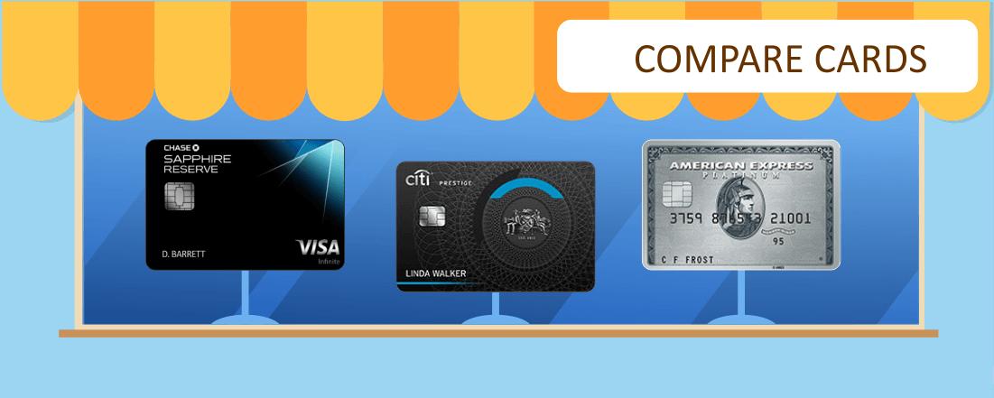 Premium Credit Card Comparison: Chase Sapphire Reserve vs. Citi Prestige vs. Amex Platinum