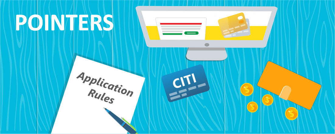 Citi Credit Card Application Rules