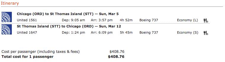 Lufthansa itinerary 4