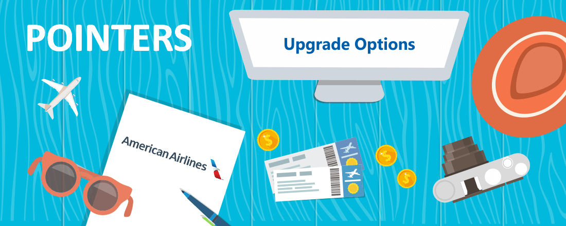 american airlines upgrade options