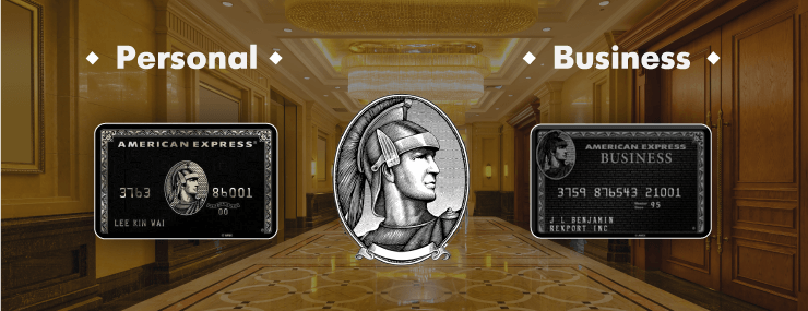 types of centurion card