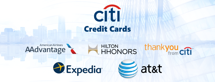 different types of citi credit cards
