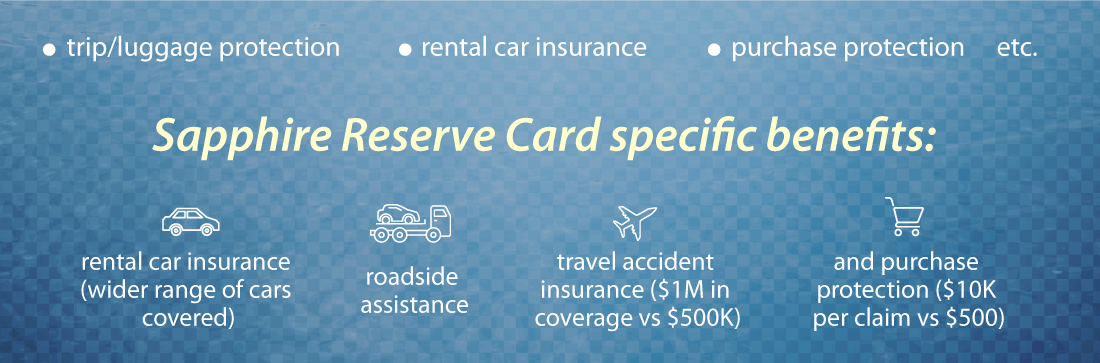 Reserve card specific benefits