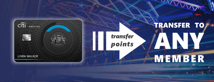 transfer citi thankyou points