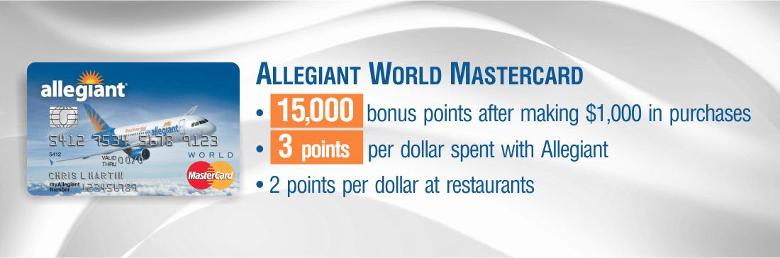 Allegiant World MasterCard