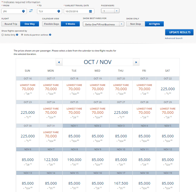 DL JFK-TLV