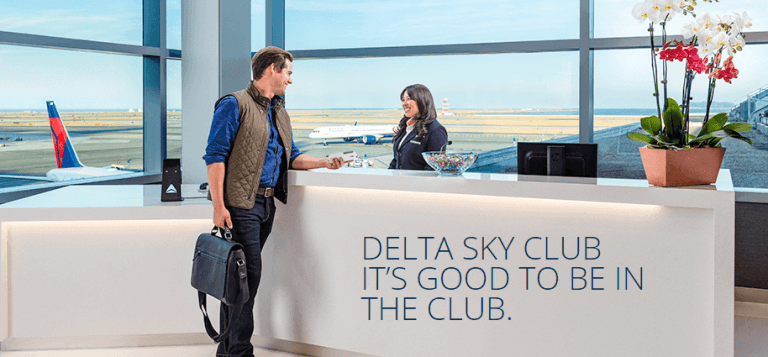 Get complimentary access to Delta Sky Clubs with the Delta Reserve card
