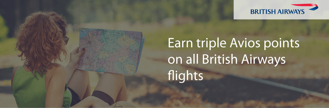 Earn triple Avios points with British Airways