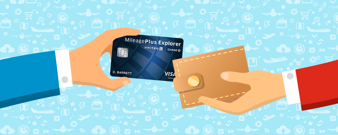 Mileage Plus Explorer card