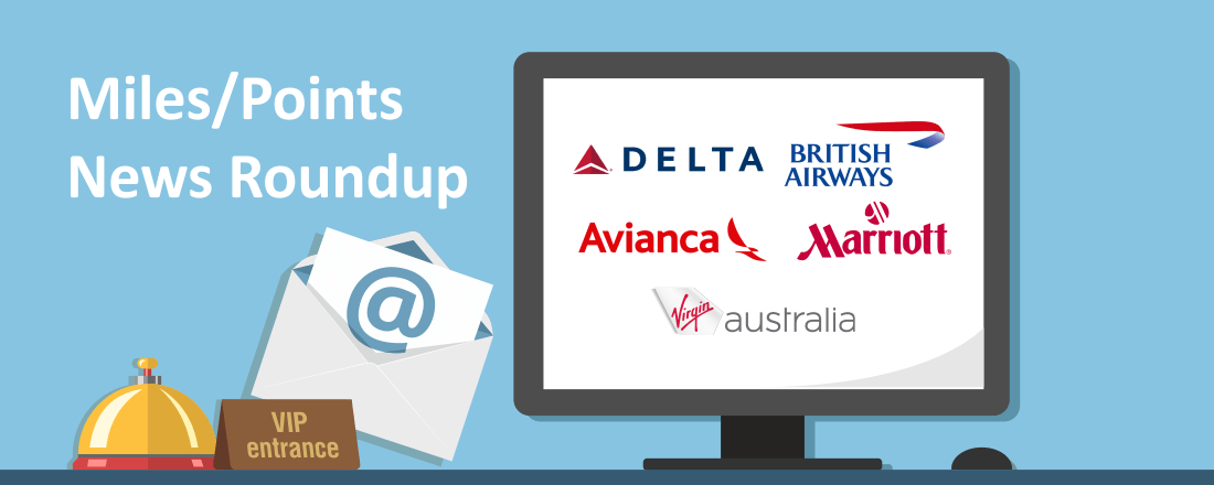Marriott and SPG Deal Closes, Hilton Stays Earn Delta Elite Status and BA Rolls Out Red Carpet