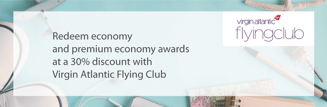 Take 30% off Virgin Atlantic Awards
