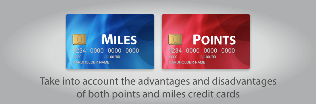 Compare points and miles credit cards