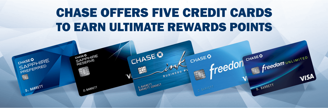 credit cards to earn Ultimate Rewards points