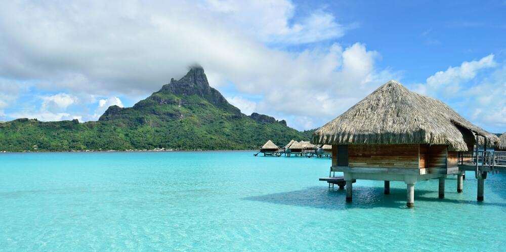 Redeem American or Delta miles to travel to Papeete, the capital of Tahiti