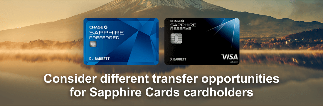 Chase ultimate rewards redemptions british airways transfer from sapphire cards colourmoves