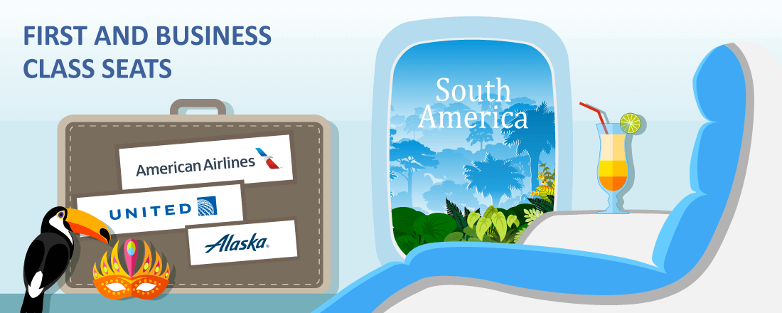 Best Airline Programs to Fly in Premium Cabins to South America