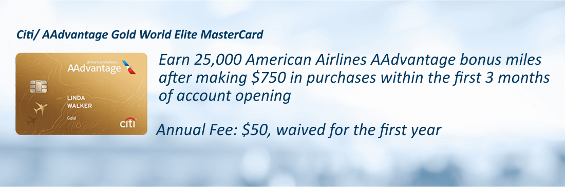 Citi / AAdvantage Gold World Elite MasterCard