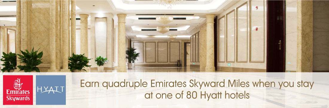 Quadruple Emirates points from Hyatt