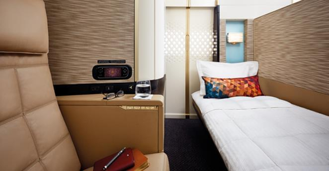 Etihad's first class apartments