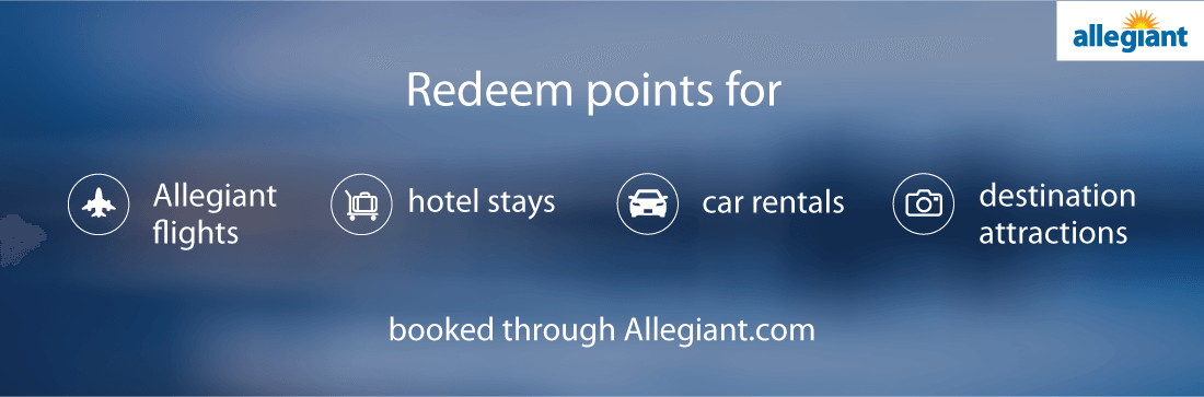 Redeem Allegiant points