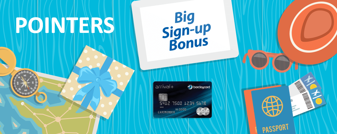 Big Bonus on Barclaycard Arrival Plus World Elite MasterCard Credit Card