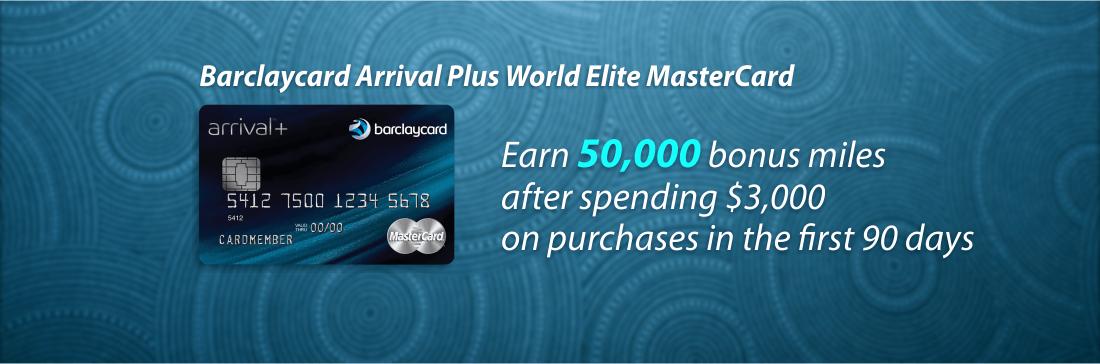 Earn 50,000 bonus miles