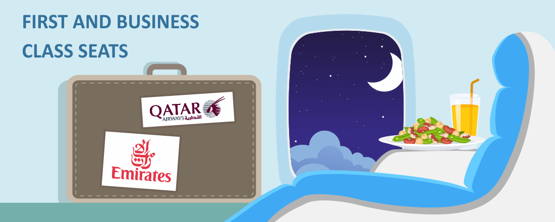 Business Class Comparison: Qatar vs Emirates to the Middle East