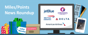 Delta Discounts Award Tickets, But Raises the Cash Cost; Donate JetBlue Points and the Airline Will Match