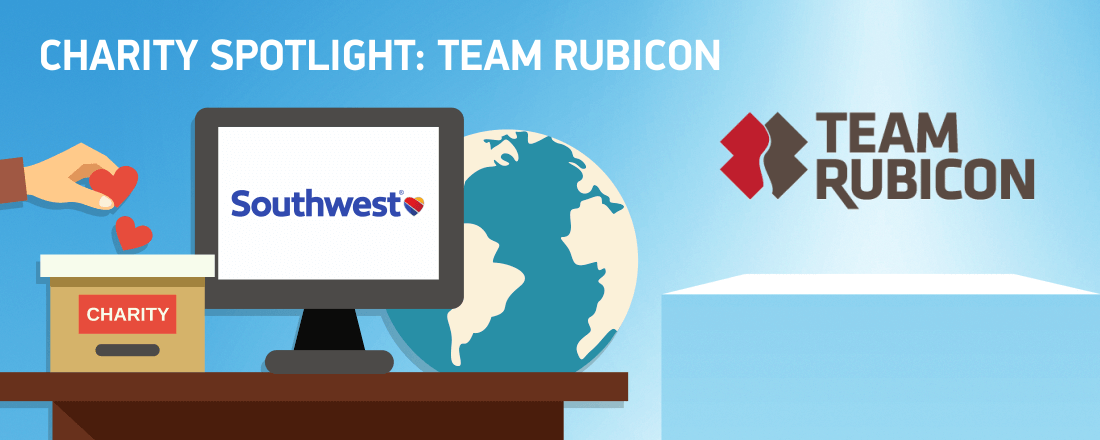 Donate Southwest Airlines Points to Team Rubicon