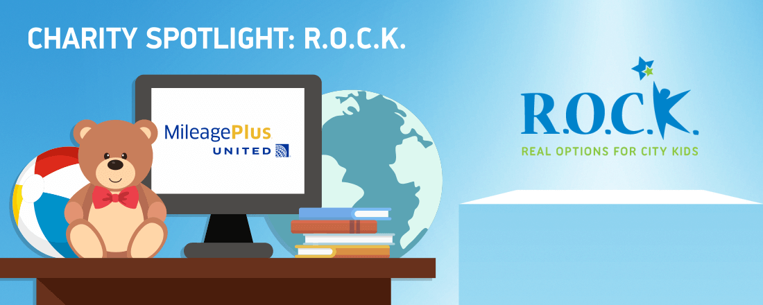 Help City Kids by Donating United Miles to R.O.C.K.