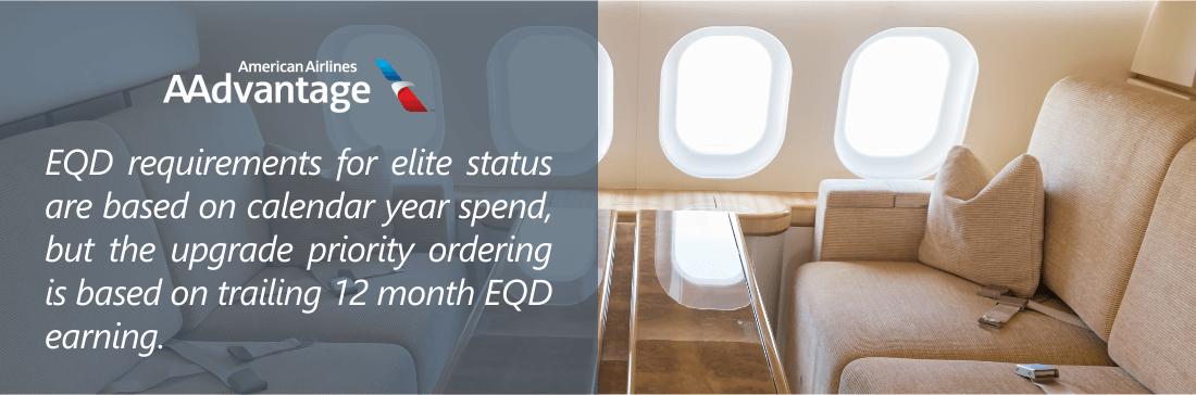 Earn EQD AAdvantage elite status