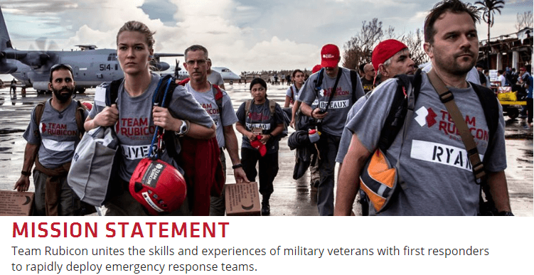 Team Rubicon's primary mission