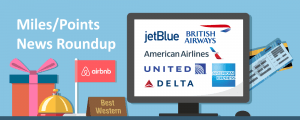 Early Holiday Shopping Bonuses from Amex, AA and United and New Rewards Program from Hyatt