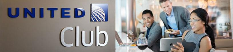 Enjoy United Club comfortable seating areas, complimentary beverages as well as premium wines and spirits